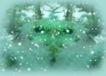 漫舞派对0046,漫舞派对,影楼摄影设计,雪松背景 雪晶树枝