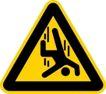 常用标识0046,常用标识,喷绘设计,危险 摔倒 警告