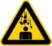 常用标识0047,常用标识,喷绘设计,小心坠物 过路小心