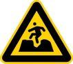 常用标识0048,常用标识,喷绘设计,小心路坑