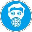 常用标识0050,常用标识,喷绘设计,防毒面具 有毒