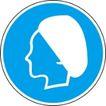常用标识0053,常用标识,喷绘设计,工厂女工 戴白帽 卫生帽
