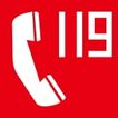 常用标识0054,常用标识,喷绘设计,火警电话 119电话