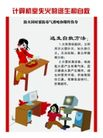 消防0047,消防,喷绘设计,计算机室失火 逃生方法 电脑消防