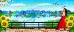 风景人物0025,风景人物,平面设计模板,