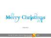 圣诞快乐3,庆典花型字体,字体设计,