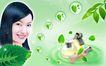 绿色调0067,绿色调,化妆品广告,