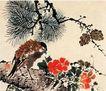 山水花鸟0241,山水花鸟,风景,