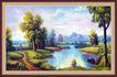 山水分层12,山水风景,中堂画,