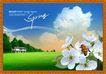 韩国分层风景21,韩国风景,中堂画,